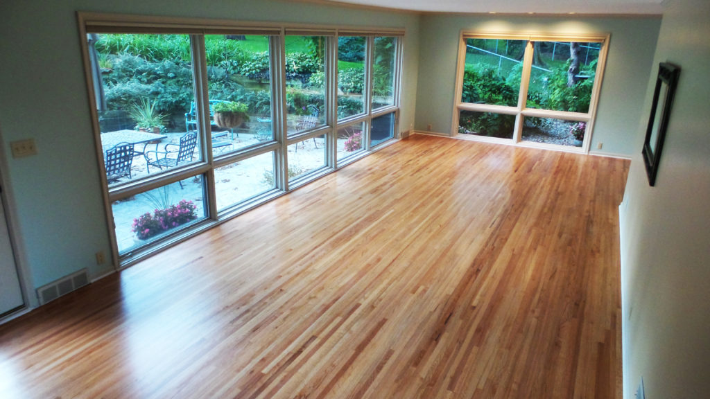"Natural #2 Common 1 1/2"" Red Oak"